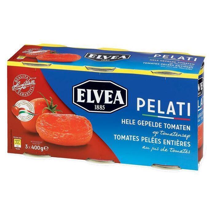 Gepelde tomaten (blik, 1.2kg)