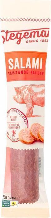 Italiaans gekruide salami (Stuk, 225g)