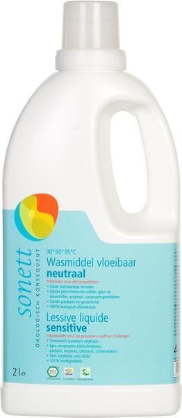 Vloeibaar wasmiddel sensitief (2L)