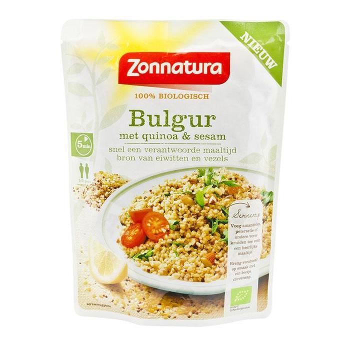 Zonnatura Bulgur Quinoa Sesam250g (250g)