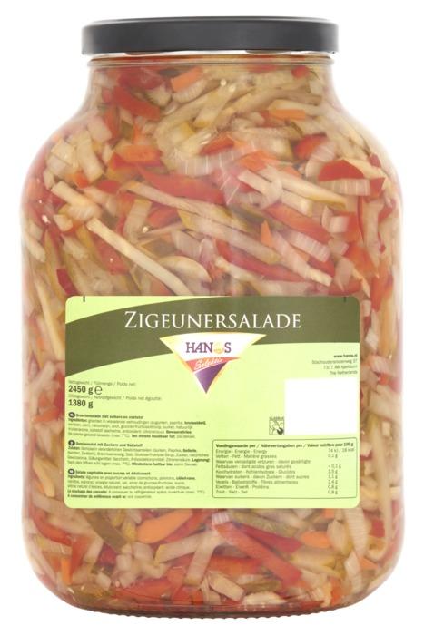Hanos Selektie Zigeunersalade 2450 g (2.45kg)