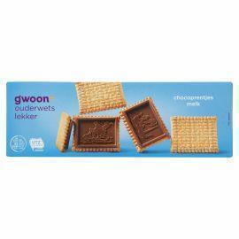 g'woon Chocoprentjes melk (doos, 150g)