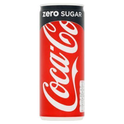 Coca-Cola Zero Sugar 250ml (rol, 25 × 250ml)