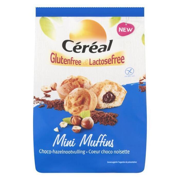 Céréal Glutenfree & Lactosefree Mini Muffins Choco-Hazelnootvulling 6 x 30 g (180g)