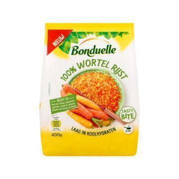Bonduelle 100% Wortel Rijst 400 g (400g)