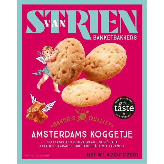 Handmade by van Strien Roomboter Amsterdamse Koggetjes 120g (120g)