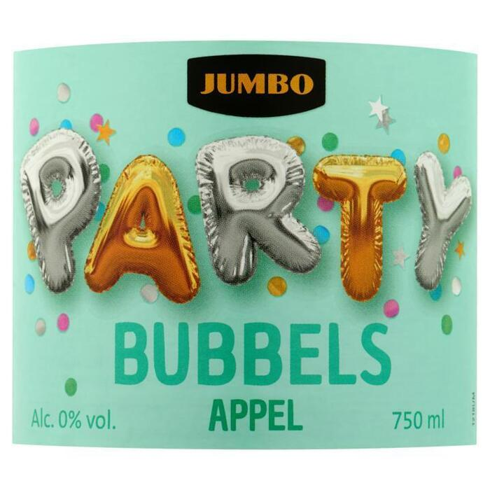 Jumbo Party Bubbels Appel 750ml (0.75L)
