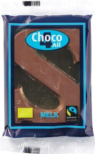 Biologische Chocoladeletter Melk (40g)